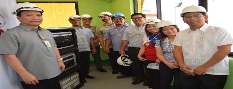 Commissioning at ceremonial switch on ng Grid Resiliency Equipment para sa Electrical Grid Monitoring System na ipinagkaloob sa PALECO ng US Agency for International Development(USAID) at US Pacific Command (US PACOM) sa tulong Department of Energy (DOE) noong  March 2, 2018.